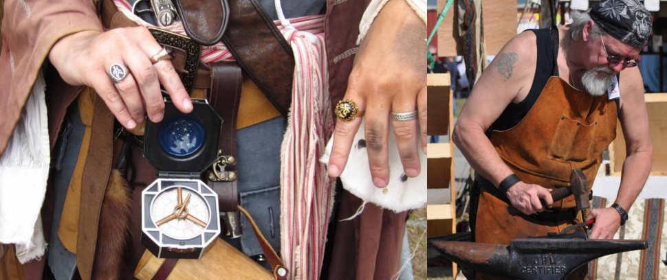 Mobile Renaissance Fair merchants wares 1